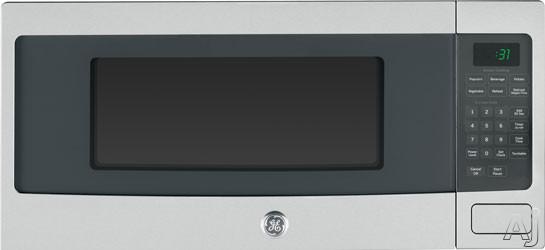 GE Profile PEM31SFSS 1.1 cu. ft. Countertop Microwave Oven with 800 Watts, 10 Power Levels, Sensor, U.S. & Canada PEM31SFSS