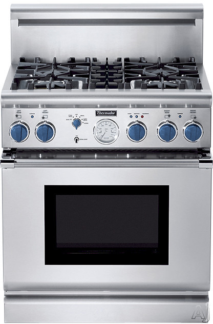 Thermador Pg304bs 30 Quot Pro Style All Gas Range With 4 Star