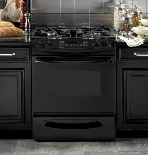 "GE Profile PGS975DEP 30"" Slide-In Gas Range with 4 Sealed Burners, 4.1 cu. ft. Convection Oven, Self, U.S. & Canada PGS975DEP"