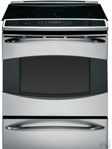 "GE Profile PHS925STSS 30"" Slide-In Induction Range with 5 Heating Elements, Warming Zone, 5.3 cu., U.S. & Canada PHS925STSS"