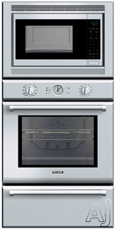 Thermador Pomw301 30 Quot Triple Combination Wall Oven With