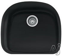"""Franke Prestige Series PRK11021MB 21"""" Undermount Single Bowl Fireclay Sink with 9"""" Bowl Depth and, U.S. & Canada PRK11021MB"""
