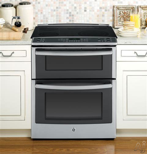 Ge Ps950sfss 30 Quot Slide In Smoothtop Electric Range With 5