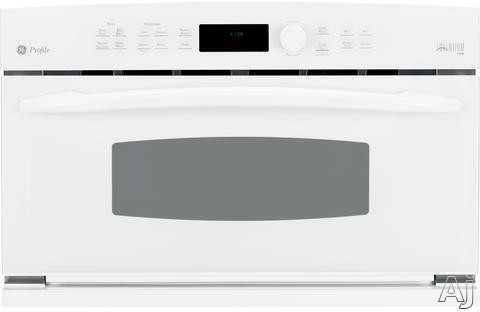 "GE Profile Advantium Series PSB1200NWW 30"" Speed Oven with 1.7 cu. ft. Speedcook Oven, Manual Clean, Convection Bake, Microwave Oven Cooking Mode and Multi-Level Cooking: White"