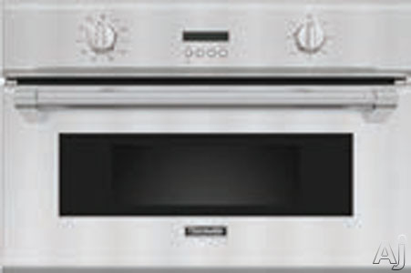 Thermador Professional Series PSO301M 30 Inch Single Steam Convection Wall Oven with 1.4 cu. ft. Capacity, CookControl Temperature Probe, Steam Convection Mode and Frameless Professional Design