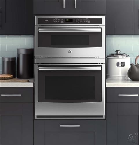 Ge Pt9800shss 30 Quot Built In Combination Wall Oven With 5 0