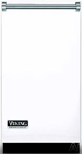 Image of Viking Professional Series PTDP18WH 18 Inch Professional Door Panel with Side Trims: White