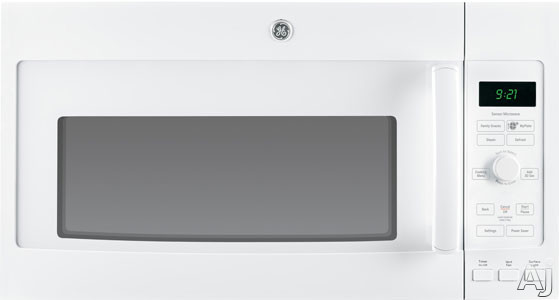 GE Profile PVM9215DFWW 2.1 cu. ft. Over-the-Range Microwave Oven with 1000 Watts, 10 Power Levels, U.S. & Canada PVM9215DFWW