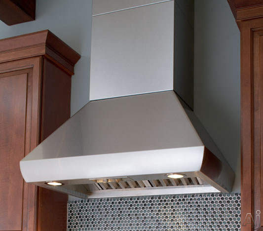 Wolf Pwc482418 48 Quot Wall Mount Chimney Range Hood With
