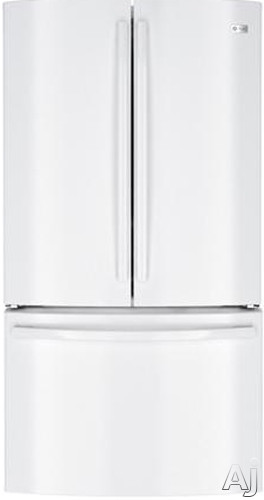 GE Profile PWE23KGD 22.7 cu. ft. French Door Refrigerator with 3 Spillproof Glass Shelves, Gallon, U.S. & Canada PWE23KGD