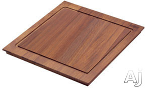 Franke Peak Series PX40S Iroko Wood Cutting Board for Peak Series