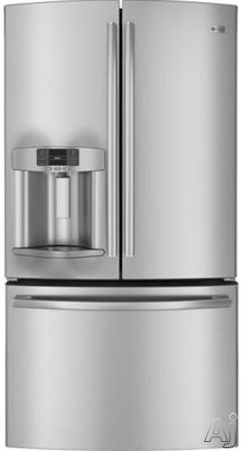 Bottom Mount Refrigerators Ge Profile Pye23ksd 231 Cu Ft French