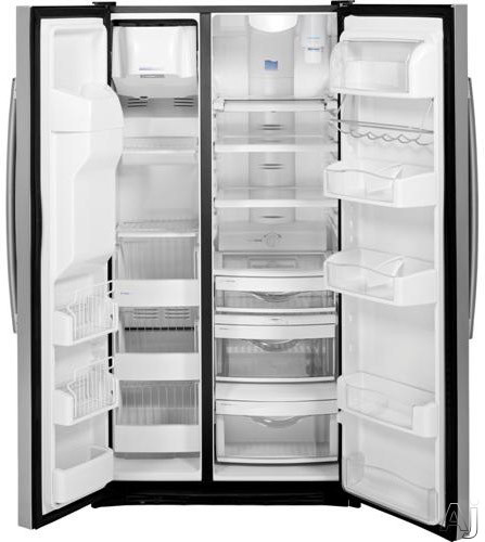 Ge Pzs23ksess 36 Quot Counter Depth Side By Side Refrigerator