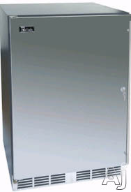 24-inch Stainless Freezer w/ Solid Stainless Steel Door