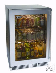 """Perlick ADA Compliant Models HA24RB 24"""" Built-In Refrigerator with 4.3 cu. ft. Capacity, U.S. & Canada HA24RB"""