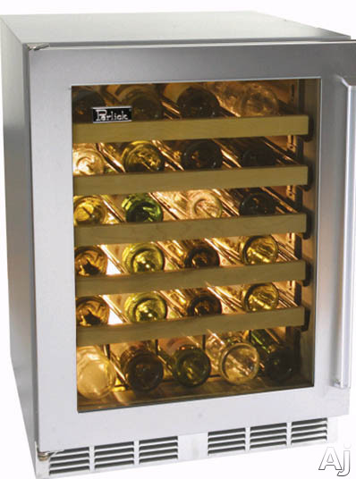 24-inch Wine Reserve w/ Stainless Steel Glass Door