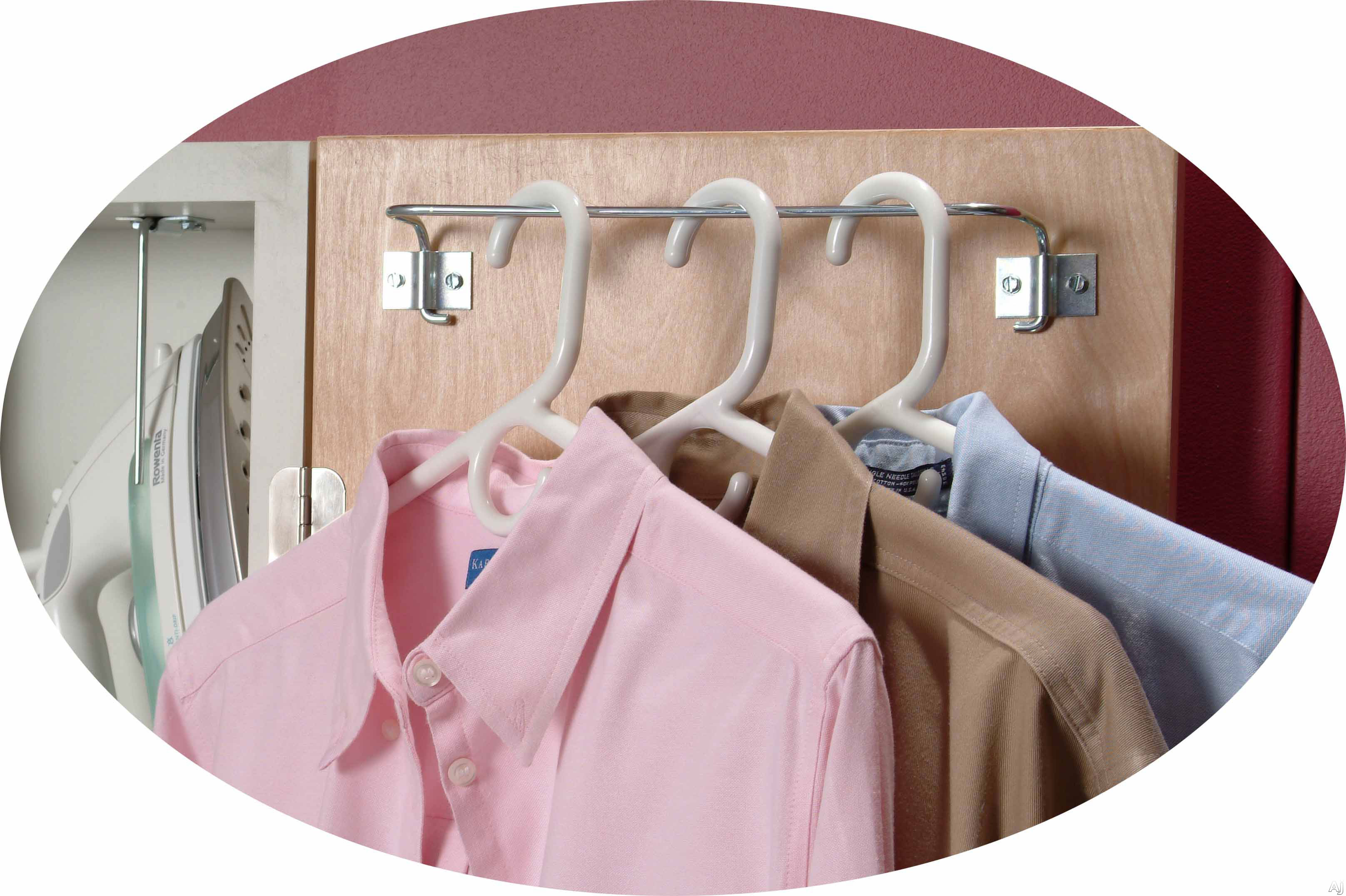 View of Garment Rack