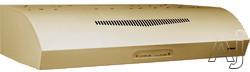 "Broan Evolution QP2 Series QP242BC 42"" Under Cabinet Range Hood with 350 CFM Internal Blower, 3, U.S. & Canada QP242BC"