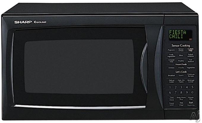 Sharp R330ek 1200 Watt 1 2 Cu Ft Mid Size Microwave Oven