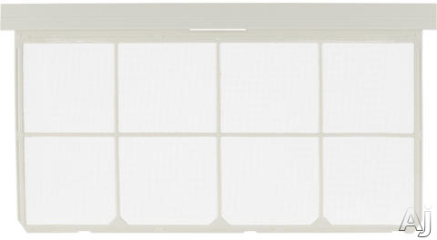 "GE RAA72A Replacement Filter For Rounded Front """"J"""" Chassis - Oval Control Knob Openings"" RAA72A"