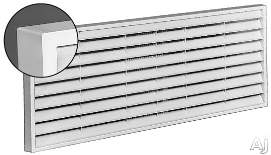 GE RAG62 Exterior Architectural Louvers Durable Polycarbonate: Maple, U.S. & Canada RAG62