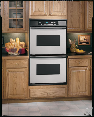 whirlpool rbd275pd 27 double electric wall oven with