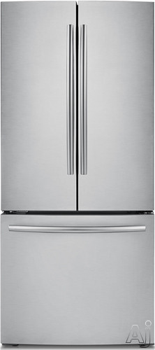 Samsung RF220NCTASR 21.6 cu. ft. French Door Refrigerator with 5 Spill Proof Shelves, 2 Humidity, U.S. & Canada RF220NCTASR