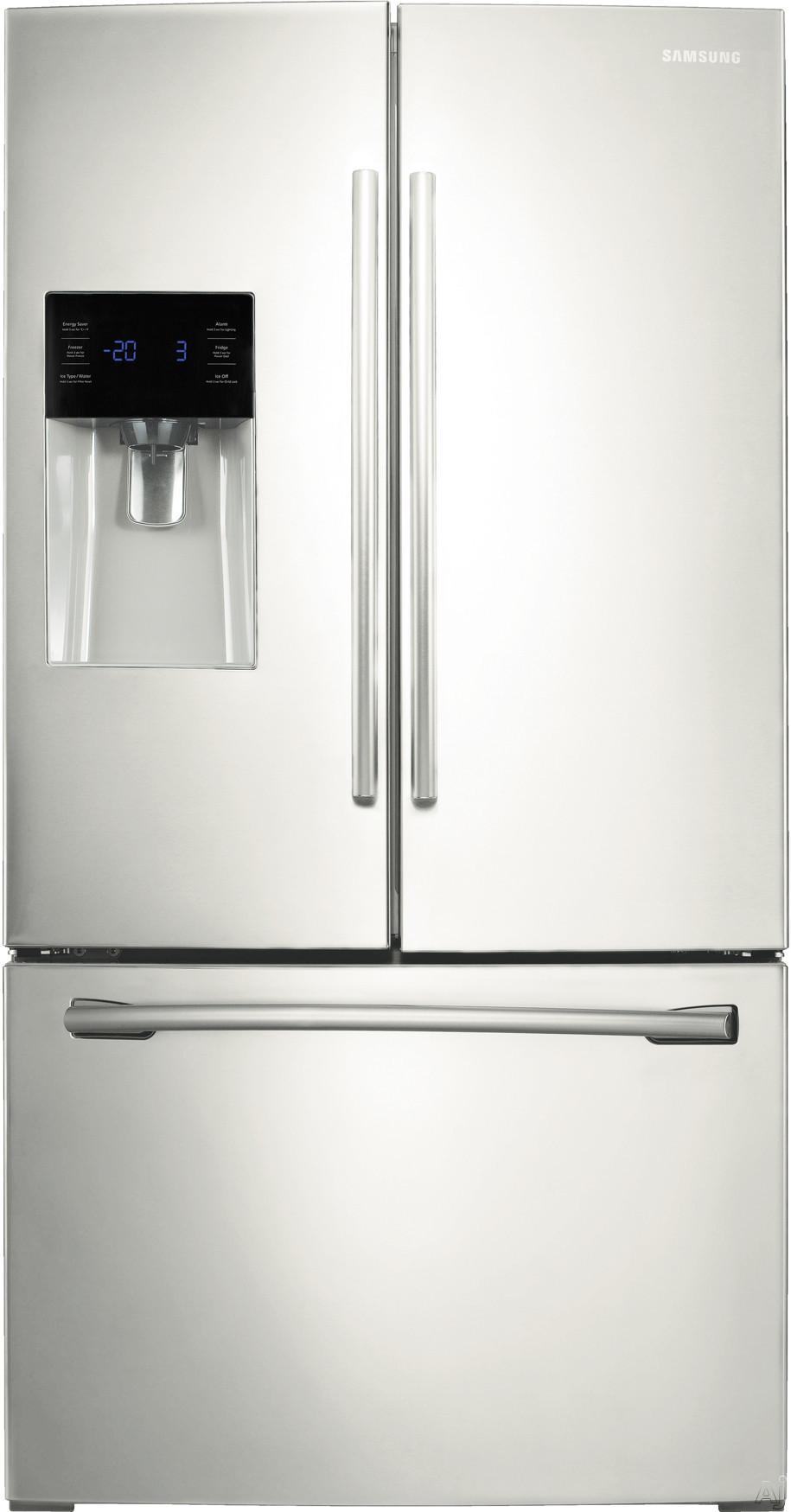 samsung rf263beaeww 24 6 cu ft french door refrigerator. Black Bedroom Furniture Sets. Home Design Ideas