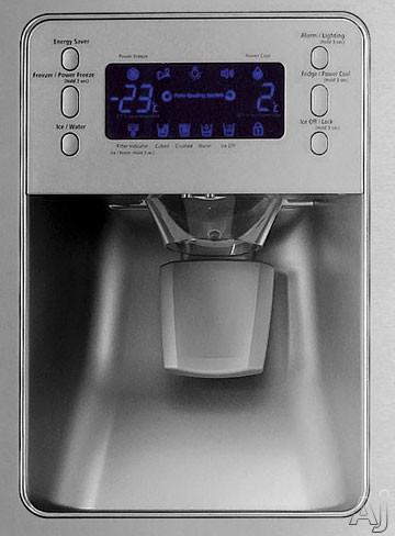 Samsung Rf267abrs 25 5 Cu Ft French Door Refrigerator