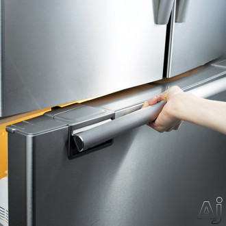 Samsung Rf267aepn 26 Cu Ft French Door Refrigerator With