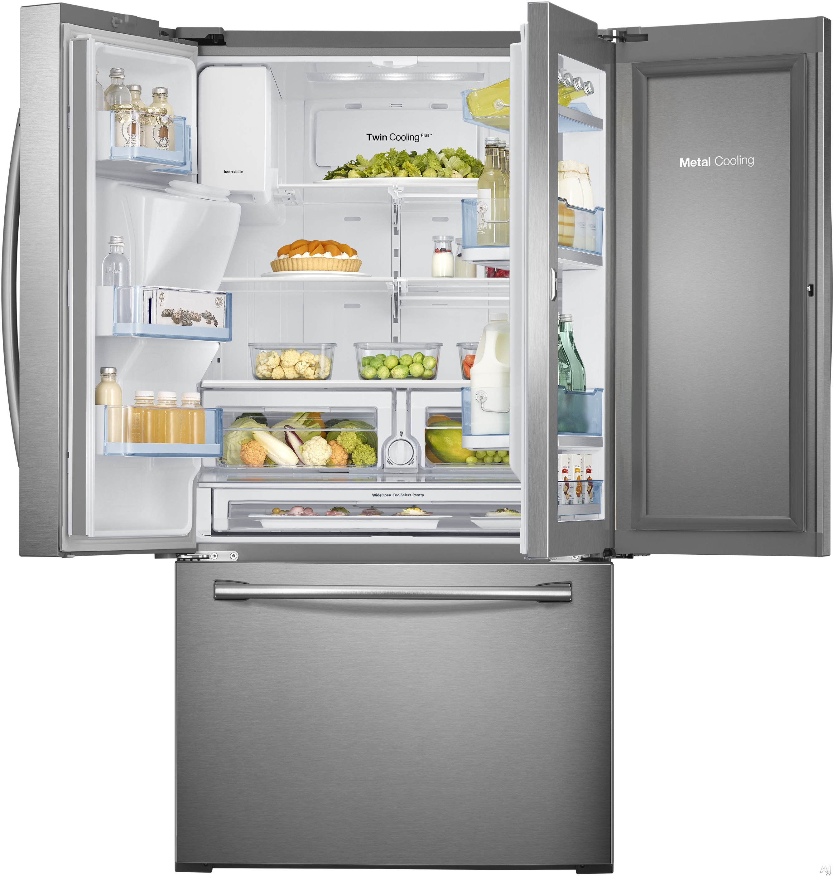 Samsung RF28HDEDBSR 36 Inch French Door Refrigerator With 27 8 Cu Ft Capaci