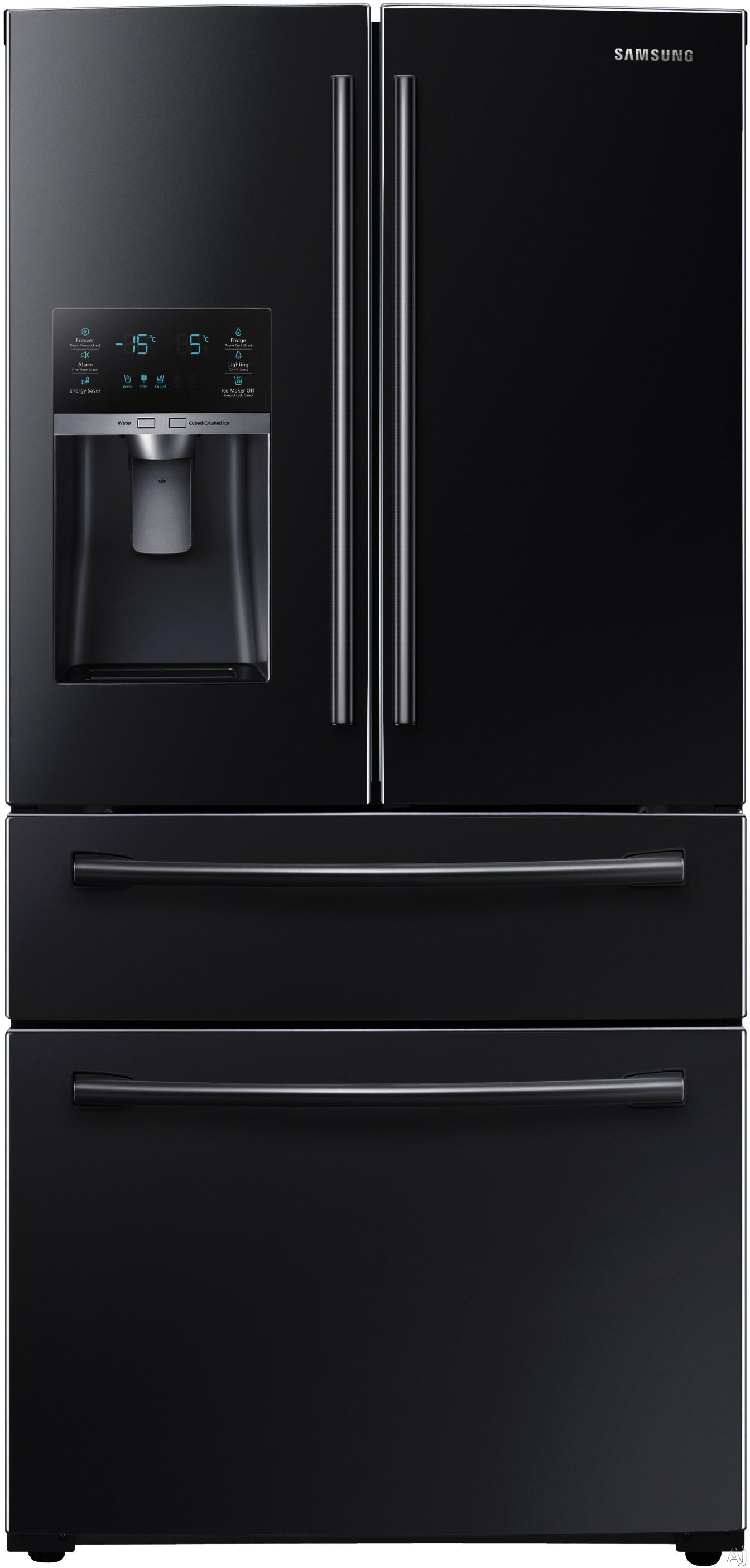 Samsung Rf28hmedb 36 Inch French Door Refrigerator With 28