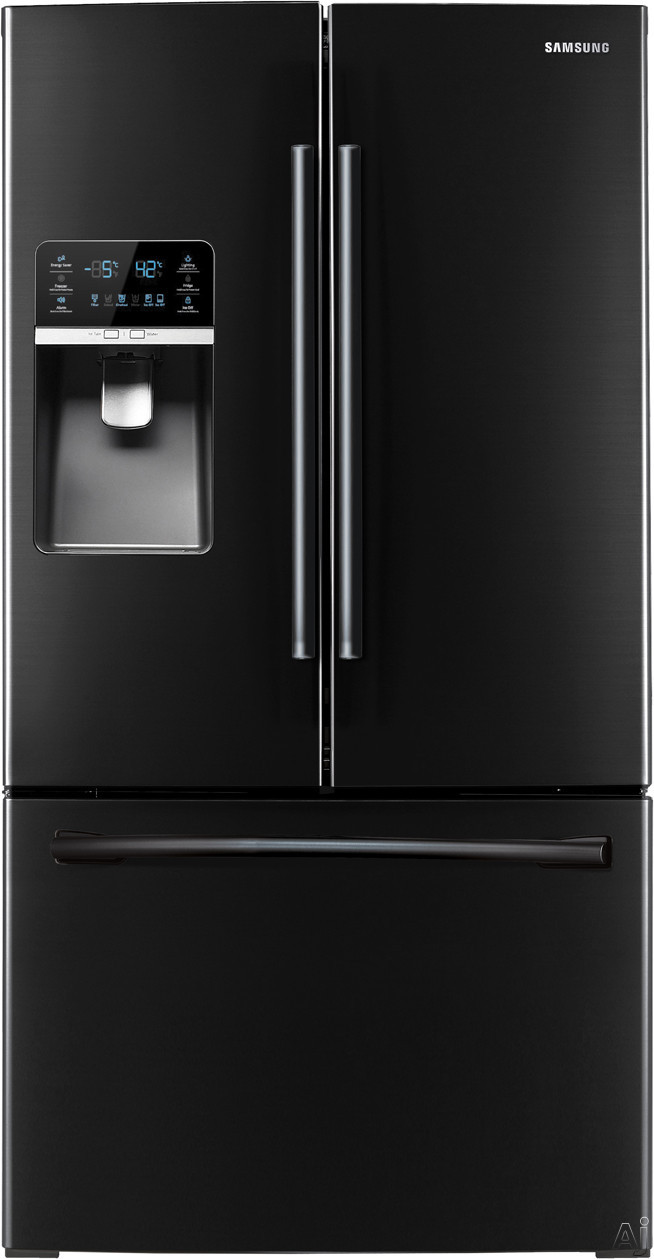 samsung rf323tedbbc 30 5 cu ft french door refrigerator. Black Bedroom Furniture Sets. Home Design Ideas