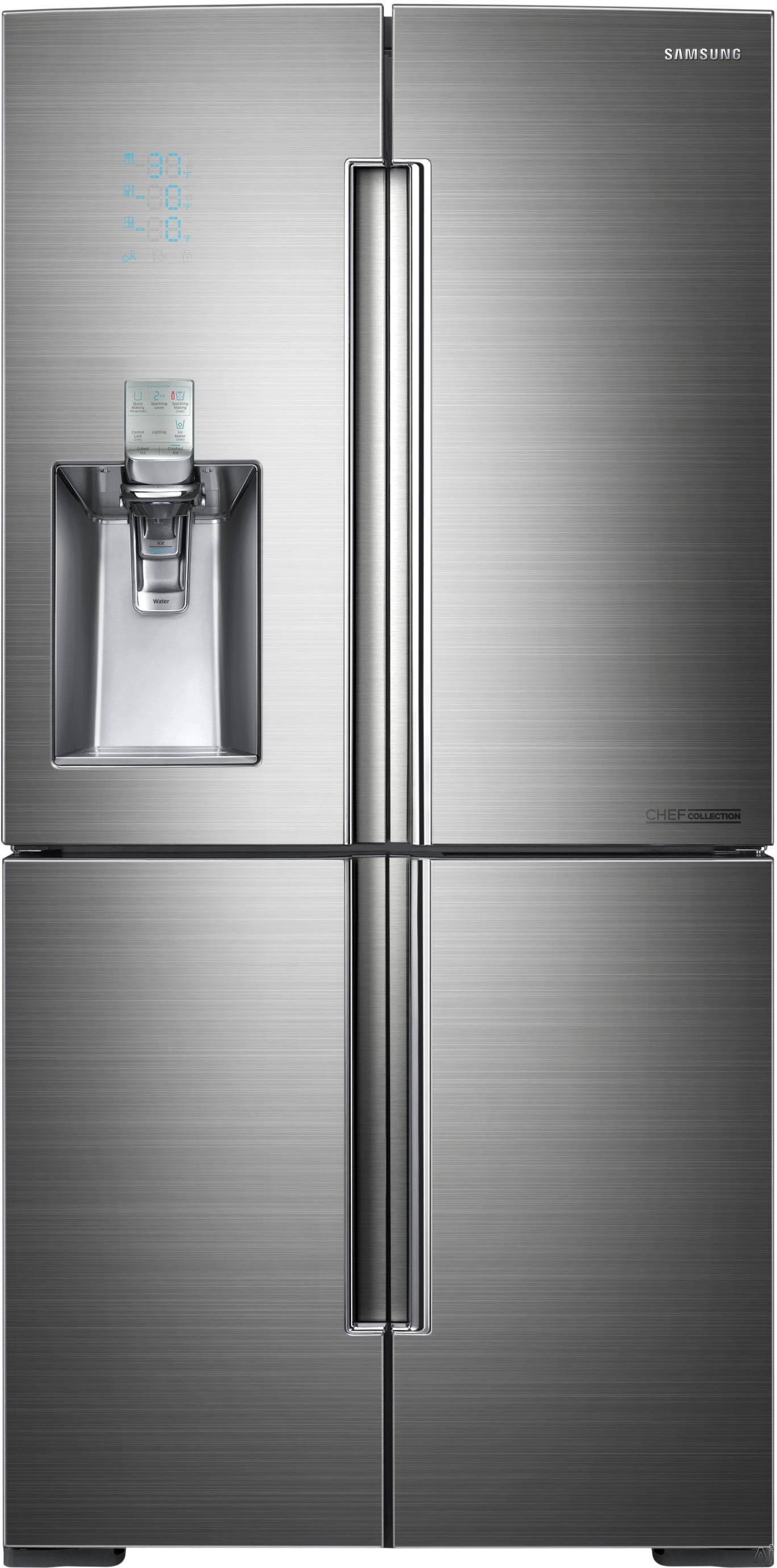 samsung rf34h9960s4 34 3 cu ft french door refrigerator. Black Bedroom Furniture Sets. Home Design Ideas