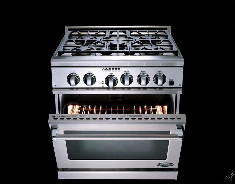 "DCS RGTC305SSL 30"" Pro Style Gas Range with 5 Sealed Dual Flow Burners"