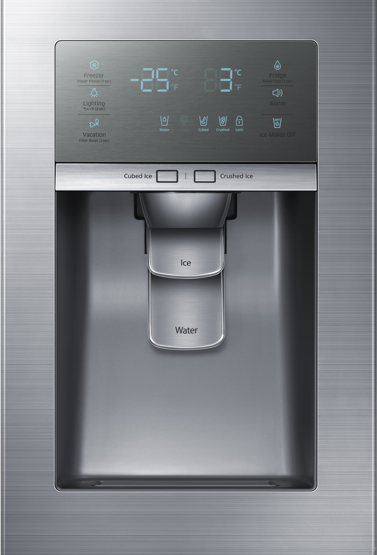 Samsung Rh22h9010sr 21 5 Cu Ft Counter Depth Side By
