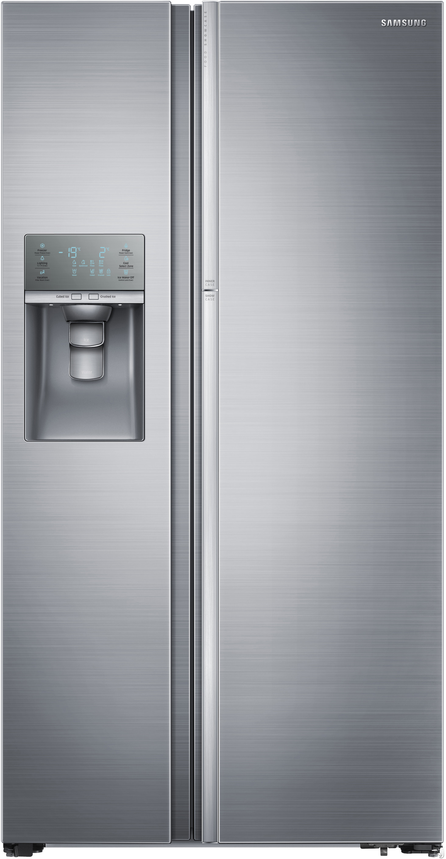 Samsung Rh29h9000sr 28 5 Cu Ft Side By Side Refrigerator