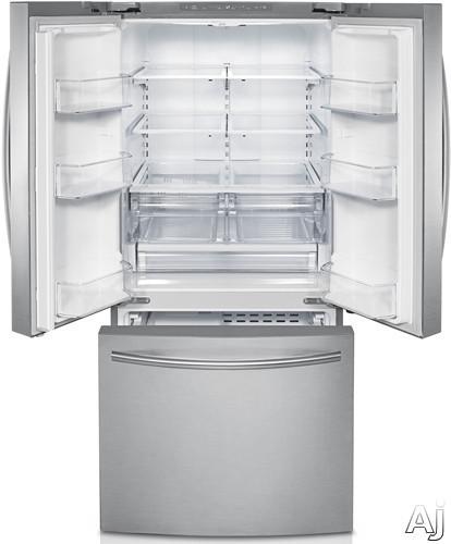 samsung rl225nctasr 22 cu ft french door refrigerator. Black Bedroom Furniture Sets. Home Design Ideas