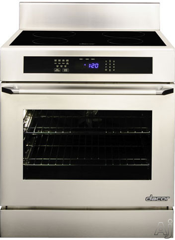 "Dacor Renaissance RR30NIS 30"" Slide-In Induction Range with 4.8 cu. ft. Convection Oven, 4, U.S. & Canada RR30NIS"