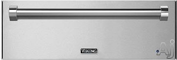 Viking RVEWD330 30 Inch Warming Drawer with 1.6 cu. ft. Capacity, 450 Watt Element, 90-¦ - 250-¦F Temperature Setting, Removable Racks and Moisture Cup RVEWD330