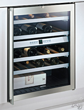 gaggenau rw404760 24 dual zone wine cellar with 41 bottles capacity 4 racks interior light. Black Bedroom Furniture Sets. Home Design Ideas