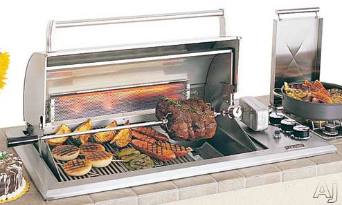 """Fire Magic Legacy Collection 34S1S1PA 41"""" Regal I Countertop Gas Grill with 540 sq. in. Cooking, U.S. & Canada 34S1S1PA"""