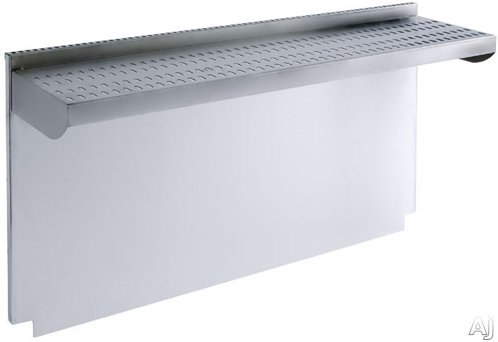 Wolf 808528 20 Quot Stainless Steel Riser With Shelf For 48