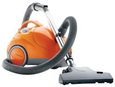 Hoover S1361 Compact Canister Vacuum Cleaner with Telescoping Wand, Check Bag Indicator, On-Board, U.S. & Canada S1361