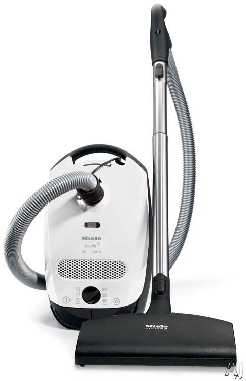 Miele S2 Series S2121DELPHI Delphi Canister Vacuum Cleaner with 1200-Watt Vortex Motor, AirClean, U.S. & Canada S2121DELPHI