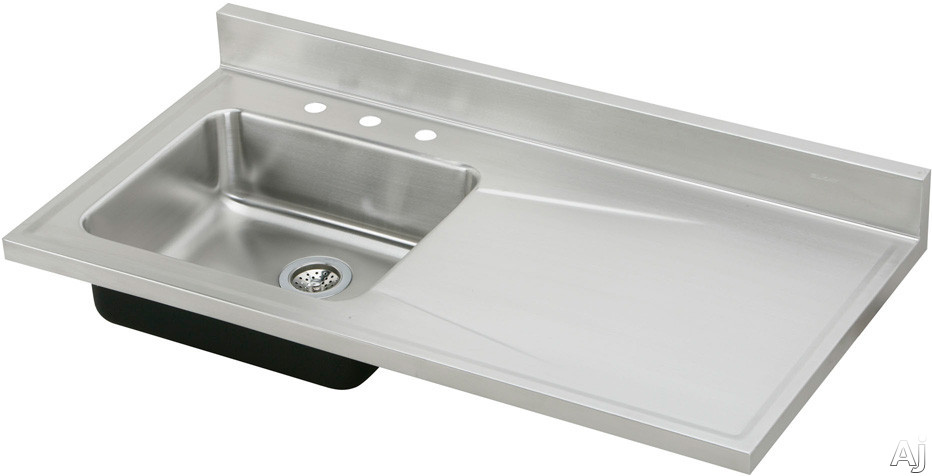 Stainless Steel Sinks With Drainboards : Home > Sinks & Faucets > Sinks > Stainless Steel > S4819L