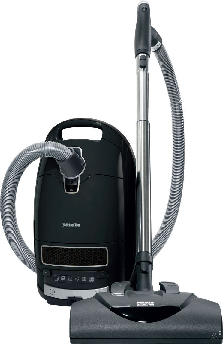 Miele S8 Series S8390KONA S8390 Kona Canister Vacuum Cleaner with 1,200-Watt Vortex Motor, 4.76 Quart AirCleanBag, HEPA Filter, Electro Plus Brush and Parquet T