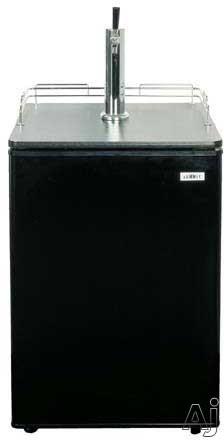 "Summit Professional Series SBC490BINK 24"" Built-in Full Keg Beer Dispenser with Automatic Defrost, U.S. & Canada SBC490BINK"