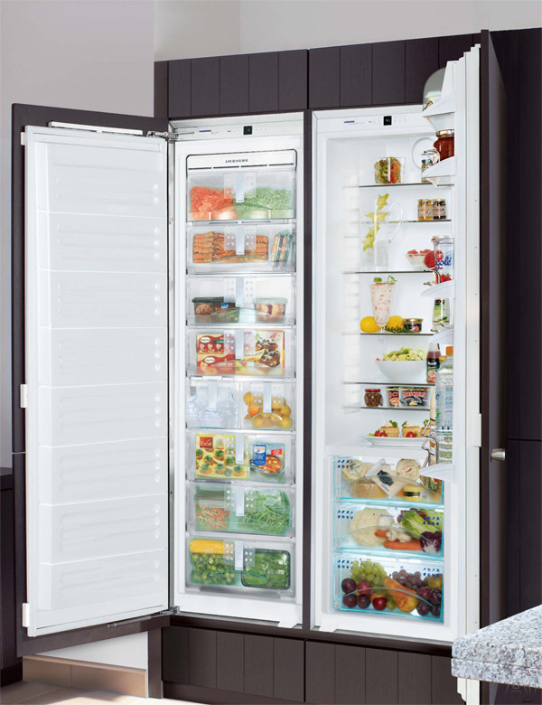 "Liebherr Premium Plus Series SBS19H0 48"" Built-in Fully Integrated Side by Side Refrigerator /, U.S. & Canada SBS19H0"