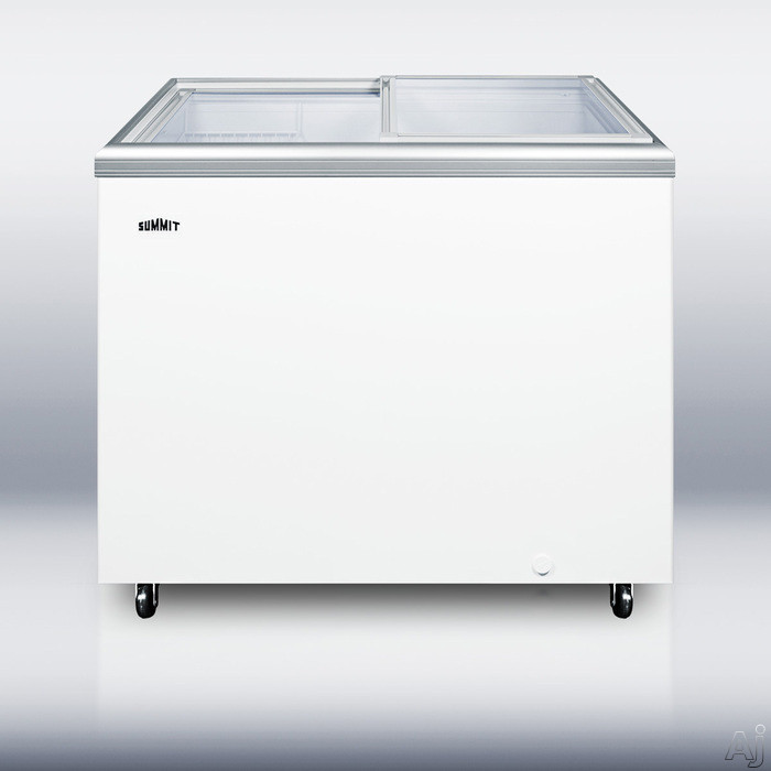 "Summit Commercial Series SCF1094 42"" Commercial Ice Cream Chest Freezer with 10.7 cu. ft. Capacity, U.S. & Canada SCF1094"